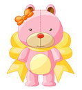 Teddy bear cute illustration of Stock Image