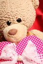 Teddy Bear with heart Royalty Free Stock Photos