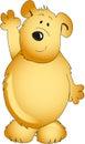 Teddy bear illustration Stock Photography