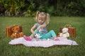 Teddy Bear Picnic Royalty Free Stock Photo