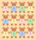 Teddy bears background