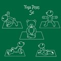 The teddy yoga white