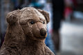 Teddybear head of a bear Royalty Free Stock Images