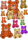 teddybears Stock Photo