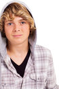 Teen boy closeup Royalty Free Stock Image