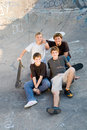 Teen boys Royalty Free Stock Photo