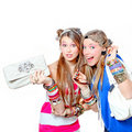 Teen fashion accessories Royalty Free Stock Photo