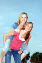 Teen friends Stock Photo