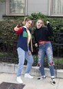 Teen Girl hip hop dancer and her youthful Mother in Saint Louis for National Dance Week