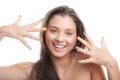 Teen make- up Royalty Free Stock Photo
