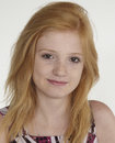 Teen Red Head Portrait Royalty Free Stock Photo