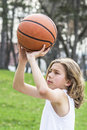 Teen sportsman
