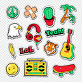 Teen Style Stickers, Badges and Patches for Fashion Prints