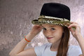 Teenage actress Royalty Free Stock Photo