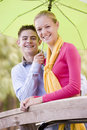 Teenage Couple Stock Photography