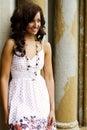 Teenage Fashion Model Royalty Free Stock Photo