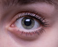 Teenage girl`s eye Royalty Free Stock Photo