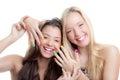 Teens nails Royalty Free Stock Photo