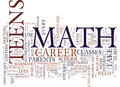 Teens Need Math To Land Dream Jobs Text Background  Word Cloud Concept Royalty Free Stock Photo