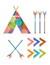 Teepee and Arrows