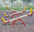 Teeter totters Stock Photography