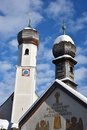 Tegernsee church Royalty Free Stock Photo