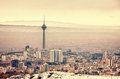 Tehran Skyline Royalty Free Stock Photography