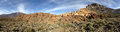 Teide national park panoramic of tenerife canary islands Stock Images