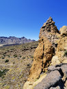 Teide national park tenerife canary islands spain Stock Photo