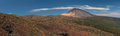 Teide panoramic view of national park Royalty Free Stock Image