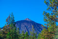 Teide peak in tenerife canary islands spain Stock Photos