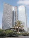 Tel Aviv Azrieli Towers 2009 Royalty Free Stock Photo