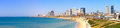 Tel-Aviv beach Royalty Free Stock Photo