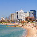 Tel-Aviv beach Stock Photo