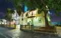 Tel Aviv Night Life Royalty Free Stock Photo