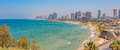 Tel Aviv panorama Royalty Free Stock Photo