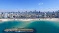 Tel Aviv skyline - Royalty Free Stock Photo