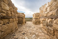 Tel Megiddo, Israel Royalty Free Stock Photo
