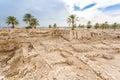 Tel Megiddo National Park, Jezreel Valley, Israel Royalty Free Stock Photo