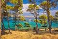 Telascica bay nature park yachting destination of dugi otok island dalmatia croatia Royalty Free Stock Image