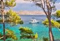 Telascica bay nature park yachting destination of dugi otok island dalmatia croatia Stock Image