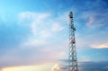 Tele radio tower elemen of design Royalty Free Stock Photography