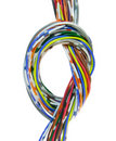 Telecommunication cable Royalty Free Stock Photo