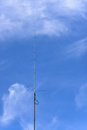 Telecommunications tower cells for mobile communications Stock Image