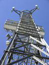 Telecomunications Aerial Tower Stock Image