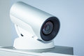 Teleconference, video conference or telepresence camera closeup