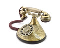 Telefone velho do vintage Fotografia de Stock Royalty Free