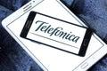 Telefonica mobile operator logo