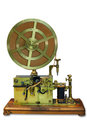 Telegraph apparatus Royalty Free Stock Photo