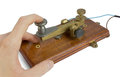 Telegraph Key Royalty Free Stock Photo
